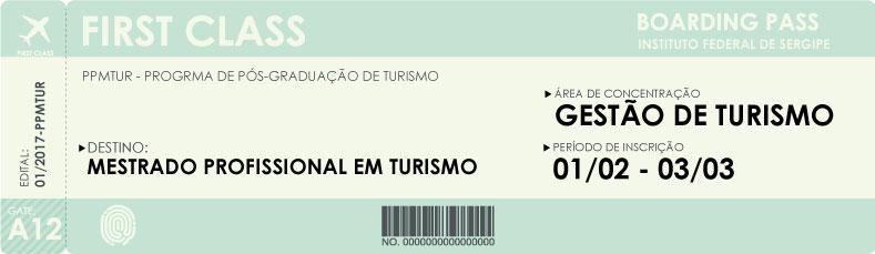 Mestrado Turismo